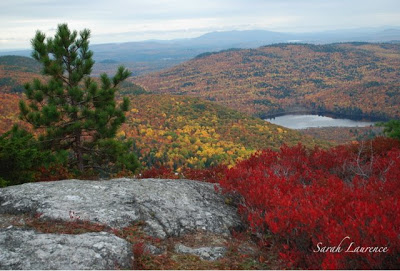 GB Fall Color Project:  Ithaca, New York and the Mountains of Maine