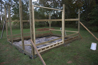 The Greenhouse Project: Beginning the Framing
