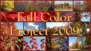 2009 Fall Color Project Wrap-up