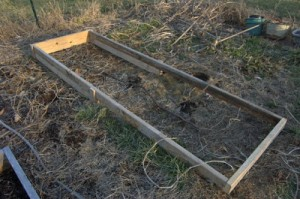 Building A Raised Bed for the Garden
