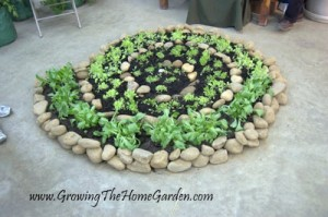 Spiral Vegetable or Herb Garden