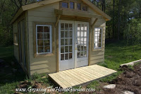 Front Porch for The Garden Shed