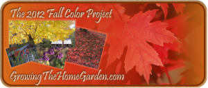 Fall Color Project 2012 News