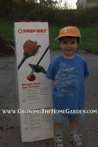 And the Results are In! (Troy-Bilt 4 Cycle Trimmer Giveaway)
