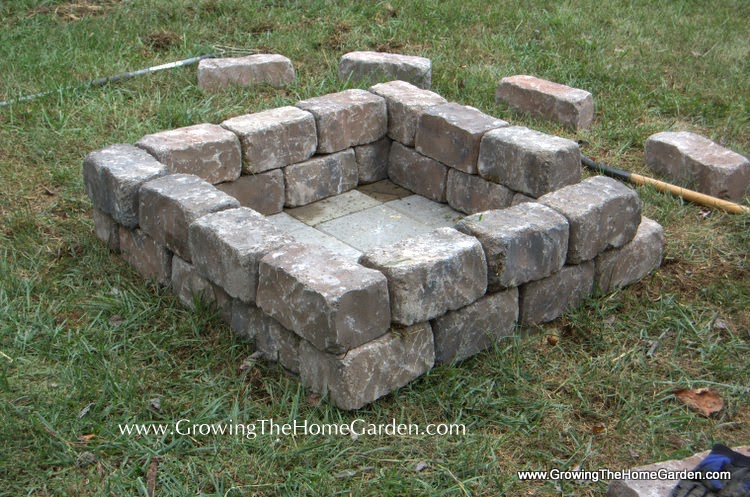 While The Firepit Was Finished I Still Had A Few Things Wanted To Do Every Fire Pit Needs Seating So Built Simple Seats By Stacking Large