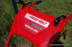 Troy-Bilt Bronco Axis VTT Vertical Tine Tiller Review
