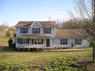 Our House in Spring 2007
