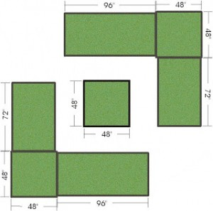 My Vegetable Garden Layout (Raised Beds)