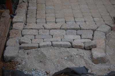 Cobblestone Patio Project Progress Report