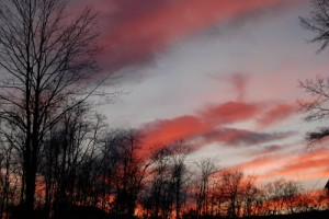 Say Nothin' Saturday: December Sunset