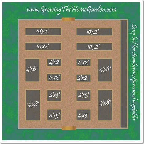 Bon Vegetable Garden Layout Raised Bed