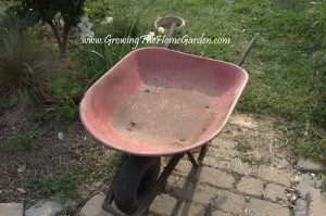 Reusing an Old Wheelbarrow and a $50 Gift Card Giveaway to Lowe's!