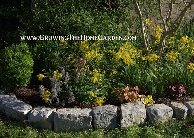 Natural Rocks for Stone Garden Borders