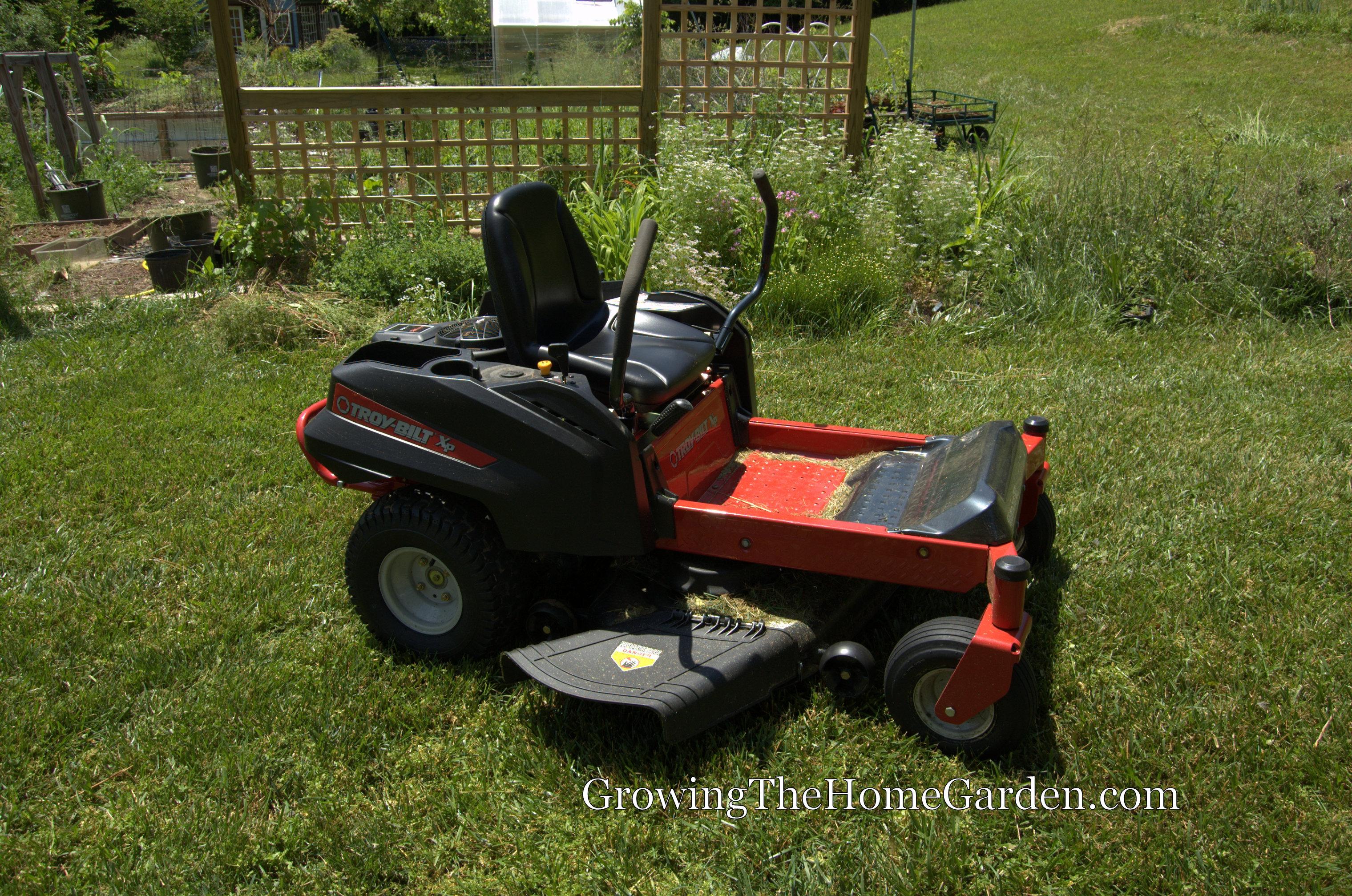 The Troy-Bilt RZT Mower – Growing The Home Garden