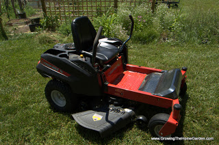 The Troy-Bilt RZT Mower