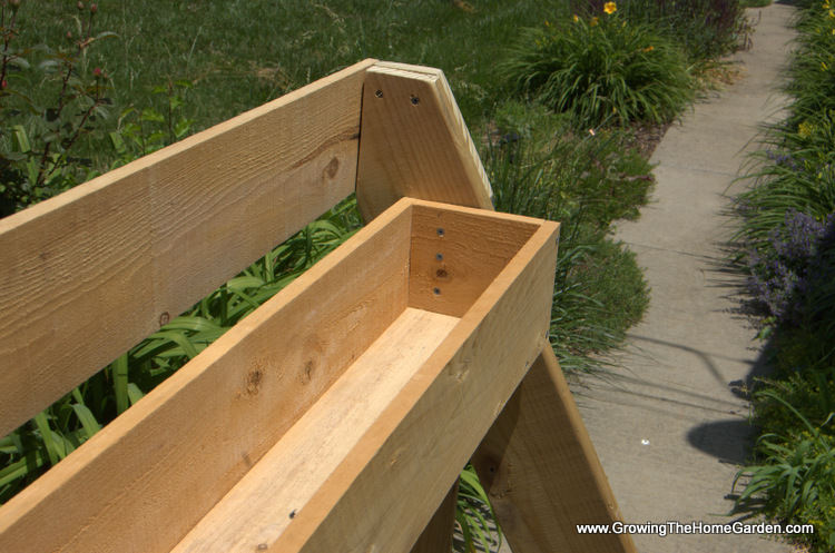 Then Screw The Boxes To The Desired Heights On The Planter Stand Portion Of  The Project. You Could Easily Add A Third Level To This If You Need Or Want  It.