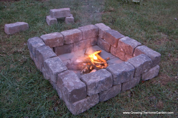 Light Up the Night with a Backyard Fire Pit and Solar Lights!