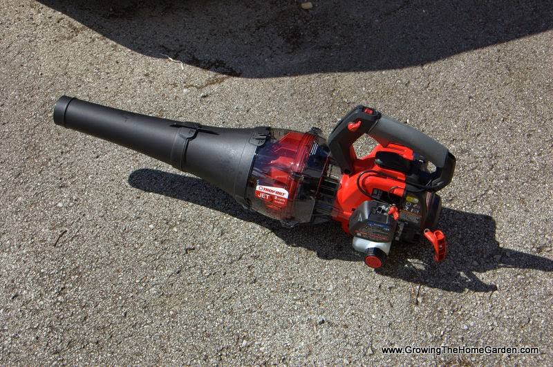 And the Troy-Bilt Jet Leaf Blower Winner is…