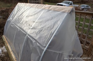 Making a Hoop House for Winter Vegetable Growing