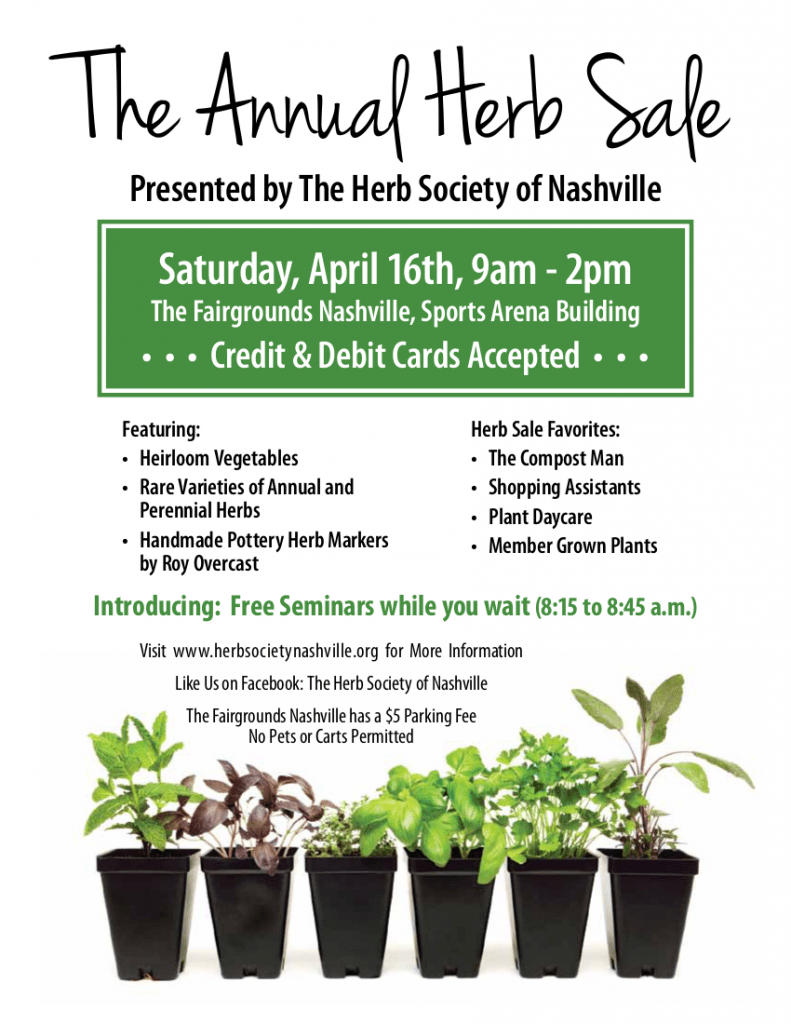 2016_Herb_Society_Nashville_Plant_Sale