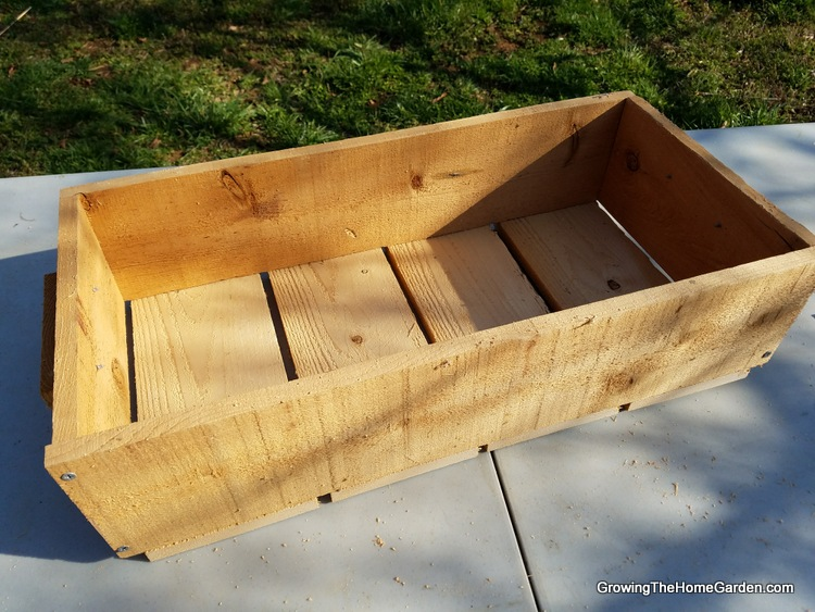 2-Portable Planter Box Project - Cedar Box (2)