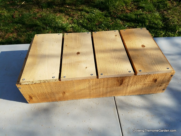 4-Portable Planter Box Project - Cedar Box (4)